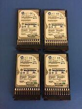 Lot of 4 - HP 512547-B21 512744-001 146GB 6G 15K 2.5'' SFF SAS Disk Drives