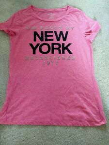 American Eagle Outfitters New York T Shirt. Pink - US size XL possible UK medium