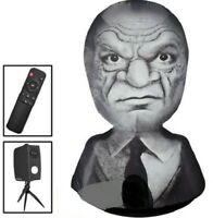 Halloween 7FT LIVING OLD MAN PROJECTION TALKS & MUSIC PLAYS AIRBLOWN INFLATABLE