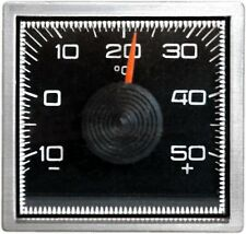 RICHTER Bimetall Thermometer Chromrand Magnethalter justierbar HR Art. 4501