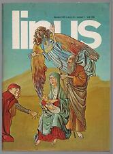 LINUS 1 anno XIV 1978 peanuts b.c. altan velentina crepax barbarella guerra!
