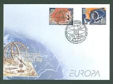 Russia AC19 Belarus FDC 2009 2v Space Astronomy