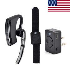HYS Bluetooth Wireless Headset Walkie Talkie Earpiece For BaoFeng Kenwood Radios