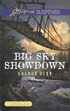 Big Sky Showdown Love Inspired Suspense Large Print