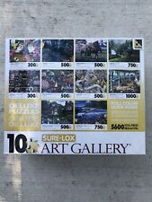 Sure-Lox Collection 10 Deluxe Jigsaw Puzzle Photo Art Gallery 5600 Pieces