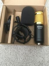Neewer Nw-700 Condenser Cable Professional Microphone Gold