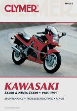 CLYMER Repair Manual for Kawasaki ZX500 85-90, Ninja ZX600A 85-87, ZX600C 88-97