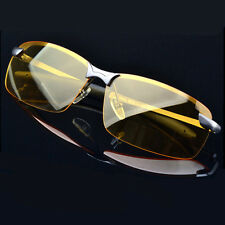 Day & Night Vision Driving Glasses Mens HD Polarized Sunglasses Fashion Eyewear
