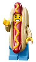 Sausage Man Suit Guy Hotdog Custom Lego Mini Figure minifig Collectable Toy NEW