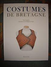 Costumes de Bretagne - Yann Guesdon - Rare et EPUISE (moitié du prix d'Amazon)