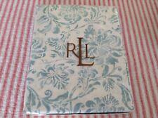 "Ralph Lauren Table Cloth Bluff Point Aqua/Floral 60""x100"""