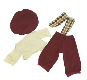 VINTAGE FISHER PRICE MY FRIEND MANDY'S DOLL FASHION CLOTHES KNICKERS OUTFIT 229