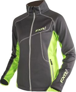 FXR WOMENS ELEVATION FLEECE ZIP-UP SPORTS JACKET - Sizes   14  or 16  - NEW