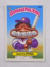 VINTAGE! 1986 Topps Garbage Pail Kids Trading Card #140a-Mouth Phil