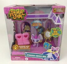 Animal Jam Game Princess Castle Den Limited Edition Fancy Fox Playset Code