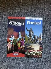 Disneyland / DCA California Adventure January 2014 Park Maps and Guide
