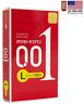 OKAMOTO  001 L size Large 0.01 Polyurethane Condom 3 pcs Made in Japan-US Seller
