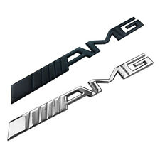 3D Chrome Car Trunk Tailgate Racing Badge Decal Metal Sticker AMG Emblem Sticker