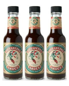 Pickapeppa Sauce Pickapper 148ml x 3 bottles made in Jamaica