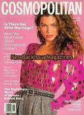 Cosmopolitan 6/89,Carre Otis,June 1989,NEW