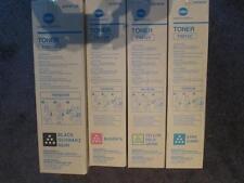 Genuine Konica Minolta TN612C CYAN Toner AOVW450 BIZHUB PRO C 5501 6500 6501