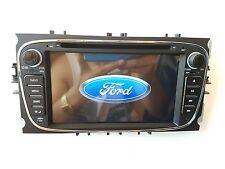 AUTORADIO NERO 2 DIN PER FORD FOCUS MONDEO GALAXY S-MAX C-MAX STEREO GPS DVD TV