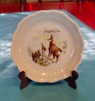 Ancienne Miniature porcelaine de France Chamois la faucille vintage montagne