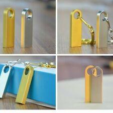 2TB USB 3.0 Flash Drives Metal Portable Memory Stick U Disk Storage Gold