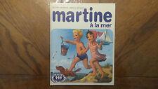Livre Ancien « Martine A La Mer » 1981 Très Bon Etat