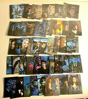 DARK SHADOWS TV SHOW 50 CARD SET FROM 8 1/2 x 11'' DRAWINGS BY DEAN MONAHAN