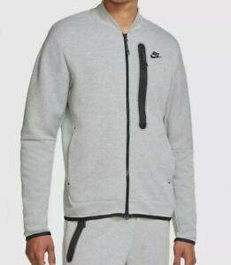 Nike Sportswear Tech Fleece Bomber Jacket Size XXXL Tall 3XLT CZ1797 063 New