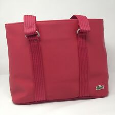 879c20cb5c Guaranteed 3 day delivery · Lacoste Tote Bag Red