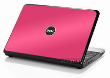 HOT PINK Vinyl Lid Skin Cover Decal fits Dell Inspiron Mini 10 Netbook