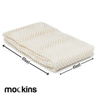 Mockins Premium Grip and Non Slip Rug Pad 4 x 6 feet Area Rug Pad