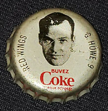 1964/65 - COCA-COLA /COKE CAP HOCKEY - GORDIE HOWE - DETROIT RED WINGS -ORIGINAL