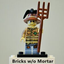 New Genuine LEGO Scarecrow Minifig with Crow and Pitchfork Series 11 71002