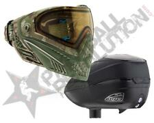 Dye Precision I5 R2 Paintball Mask Loader Combo Dyecam Black