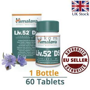 LIV 52 Liv.52 DS Double Strength (1 x 60 Tablets) Liver Detox Food supplements