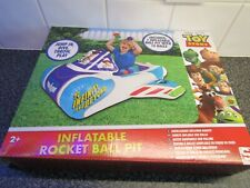 Disney - PIXAR - Toy Story - Inflatable Rocket Ball Pit - With 10+ Balls