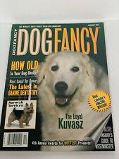 Dog Fancy Magazine~Feb 1997 Kuvasz Cover~The Loyal Kuvasz~