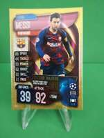 LIONEL MESSI #RH1 2019-20 Topps  Match Attax Record Holders GOLD SP Soccer Card