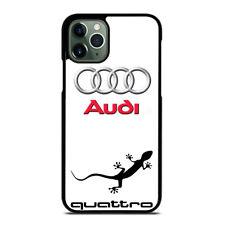 AUDI GECKO QUATTRO #1 iPhone 6/6S 7 8 Plus X/XS XR 11 Pro Max Funda Protectora De Teléfono