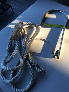 "Riley Rm22 Flying Gaff & Rope 8"""