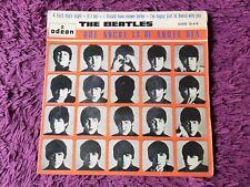 """The Beatles – Que Noche La De Aquel Dia Vinyl 7"""" EP 1964 Spain DSOE 16.619"""