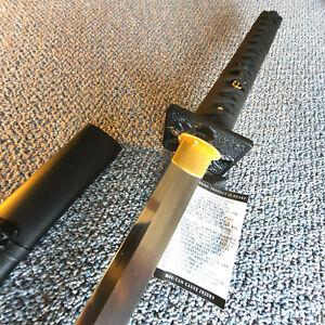 NEW! SH2268 Hanwei Practical Shinobi Ninja-To (Black Same) by Paul Chen
