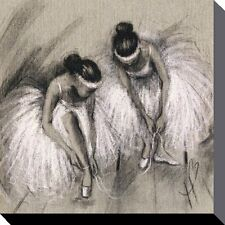 BOX CANVAS HAZEL BOWMAN (PREMIERE) BALLET DANCER  ART PRINT 40cm X 40cm