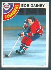 1978 79 OPC O PEE CHEE 76 BOB GAINEY NM MONTREAL CANADIENS HOCKEY CARD