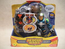 Rescue Heroes Mission Select  Gil Gripper  Factory Sealed!