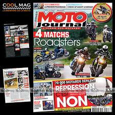 MOTO JOURNAL N°1959 TRIUMPH 675 STREET TRIPLE 1050 SPEED TRIPLE, YAMAHA FZ1 FZ8
