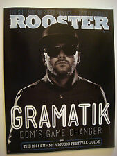 ROOSTER Mag May 2014: Festival Guide,LSD,EDM's Gramatik,Marijuana,Puff Daddy,Wiz